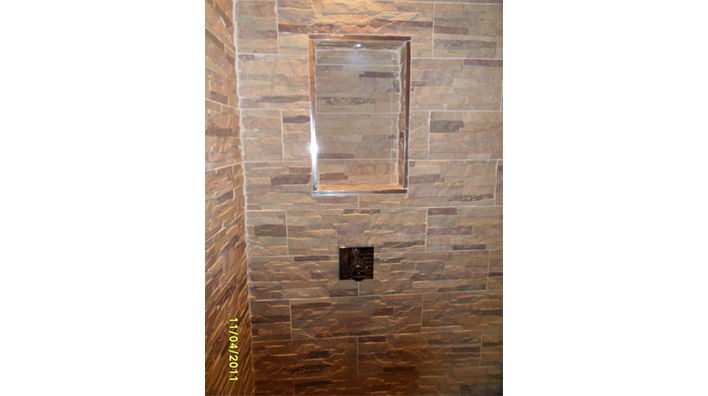 Complete Bathroom Solutions Recessed Shelf