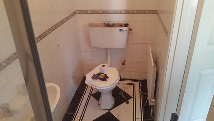 Wetroom Before 2.2